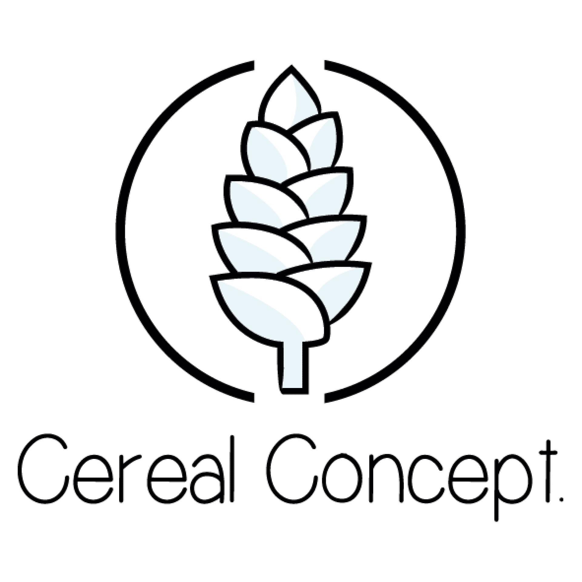 logo cereal concept web design tech & smile applications mobiles